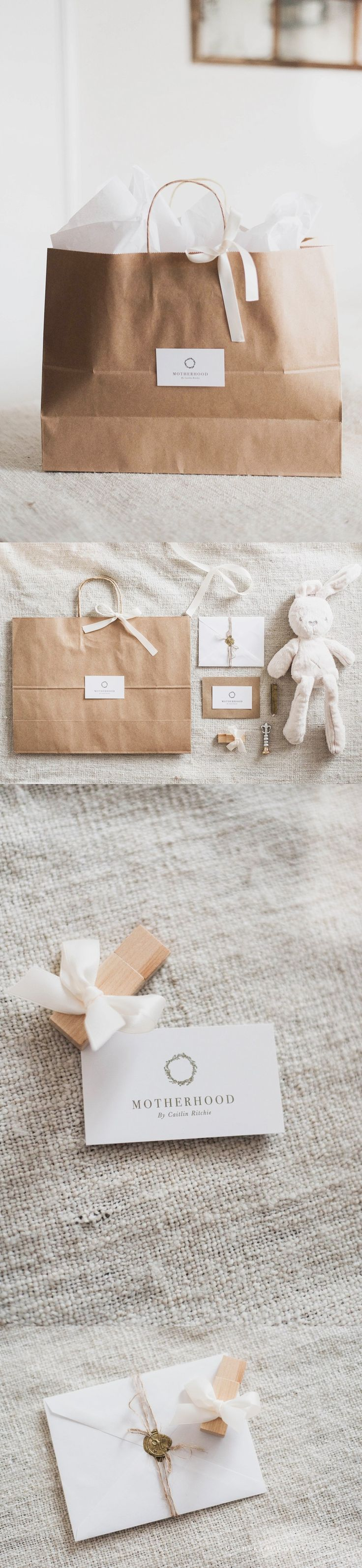 Client Gifts and Packaging by Motherhood - By Caitlin Ritchie | Beautiful luxury client photography packaging with an minimalist, organic feel. Maternity, Newborn, Baby & Child, Family Photographer. Petawawa - Perth - Ottawa Photography