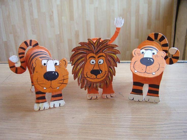 preschool toilet tube animals | funnycrafts