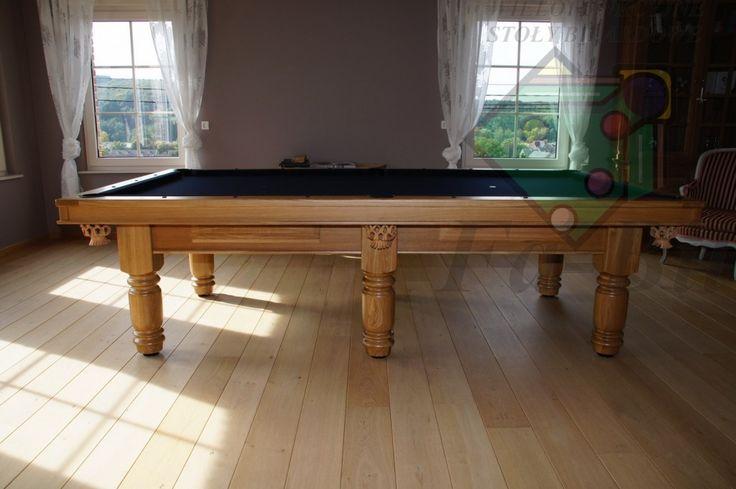 Zdjęcia stołu 9ft Exlusive, stół bilardowy z litego drewna #bilard #home #game #snooker