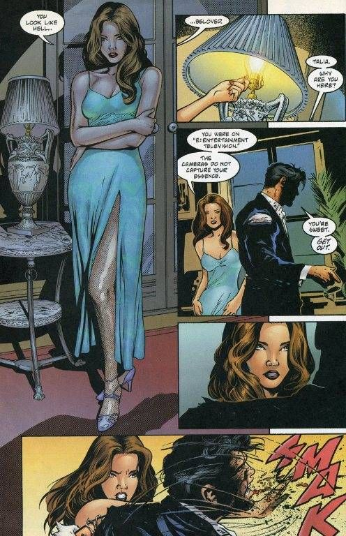 ZOMG Talia al Ghul is..... - Talia al Ghul - Comic Vine