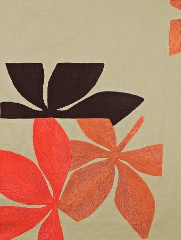 : Embroidered Textiles, Fauna Fabrics, Embroidered Yardag, Patterns Textiles, Colors Judy Ross, Ross Textiles, Embroidered Linens, Linens Fabrics, Fabrics Fauna