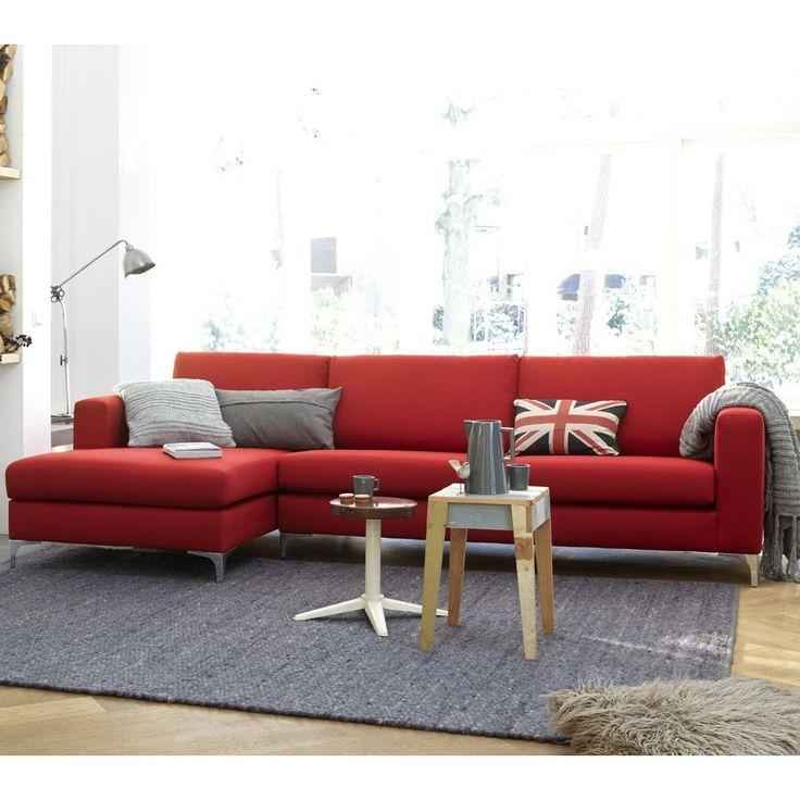 Hoekbank Clark rood - Moderne zitmeubelen - Zitmeubelen | Zen Lifestyle