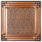 Ceiling Tile, Antique Copper, 24
