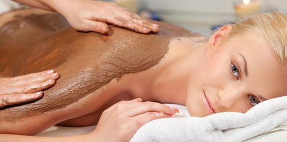 Indulge yourself with an exfoliating body treatment from us. Kiss dead cells goodbye! #exfoliation #skin #bodytreatment