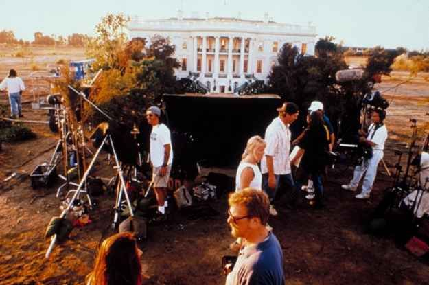 White House - Independence Day | 24 Famous Miniature Movie Sets That Will Blow Your Mind