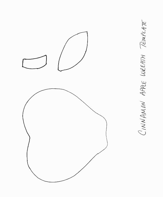 Best  Apple Template Ideas On   Apple Crafts For