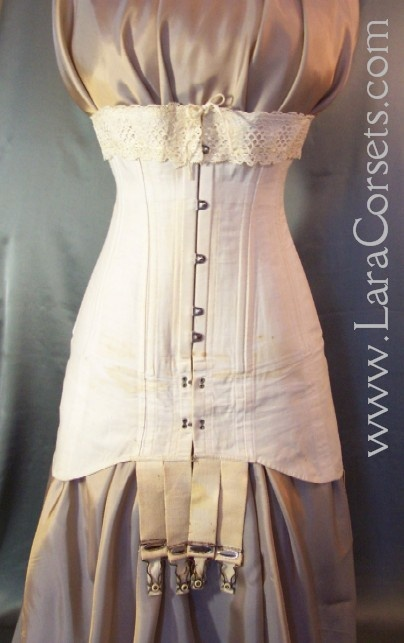 Vintage 1910 corsets can