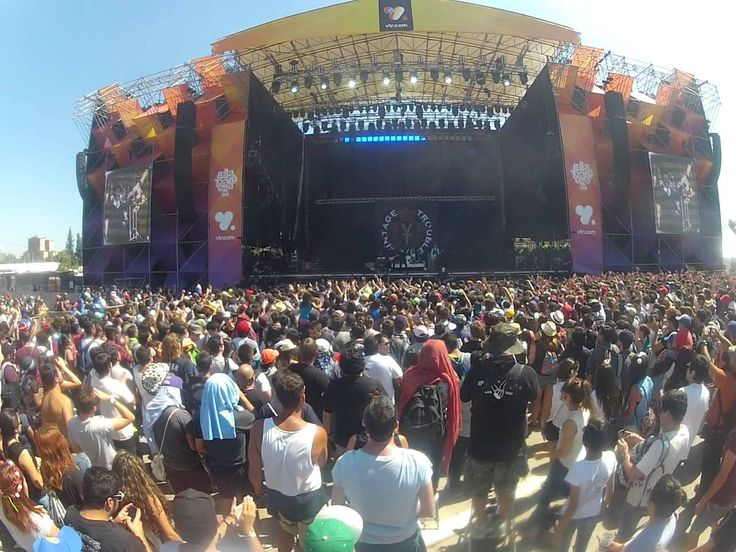 Pelvis Pusher - Vintage Trouble (Lollapalooza Chile 2016)