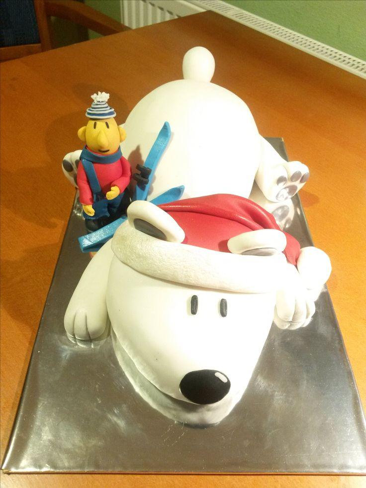 Cake polar bear & Mat (serial Pat&Mat)