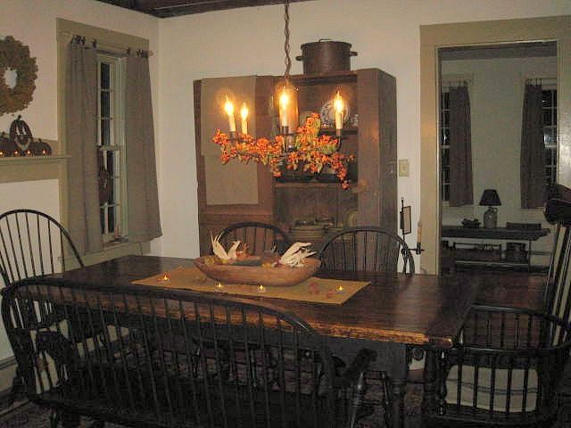 414 best images about decorating dining rooms on pinterest for Primitive dining room ideas