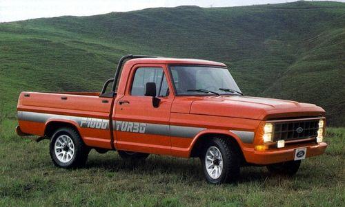 1991 Ford F-1000 Turbo - Brasil