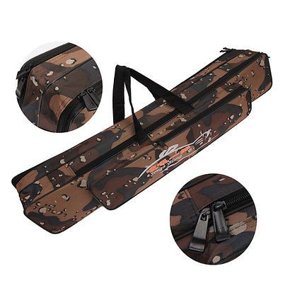 Fishing Rod Bag Outdoor Travel Organizer Pole Carry Fishing Tackle Case 80/120cm