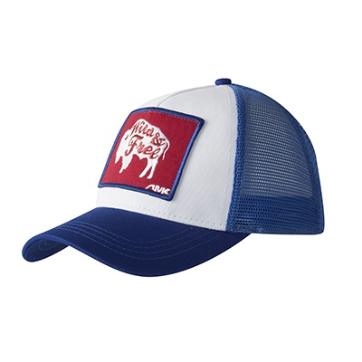 10th Anniversary Bison Patch Trucker Cap - Mountain Khakis