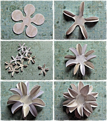 1039 best make your own flowers images on pinterest fabric flowers cool flowers you can make mightylinksfo Images