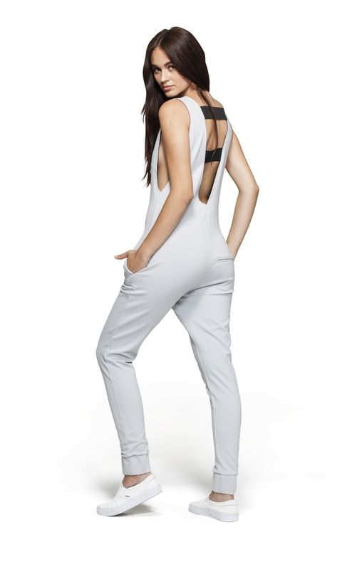 @onepiece Bay Jumpsuit Light Grey