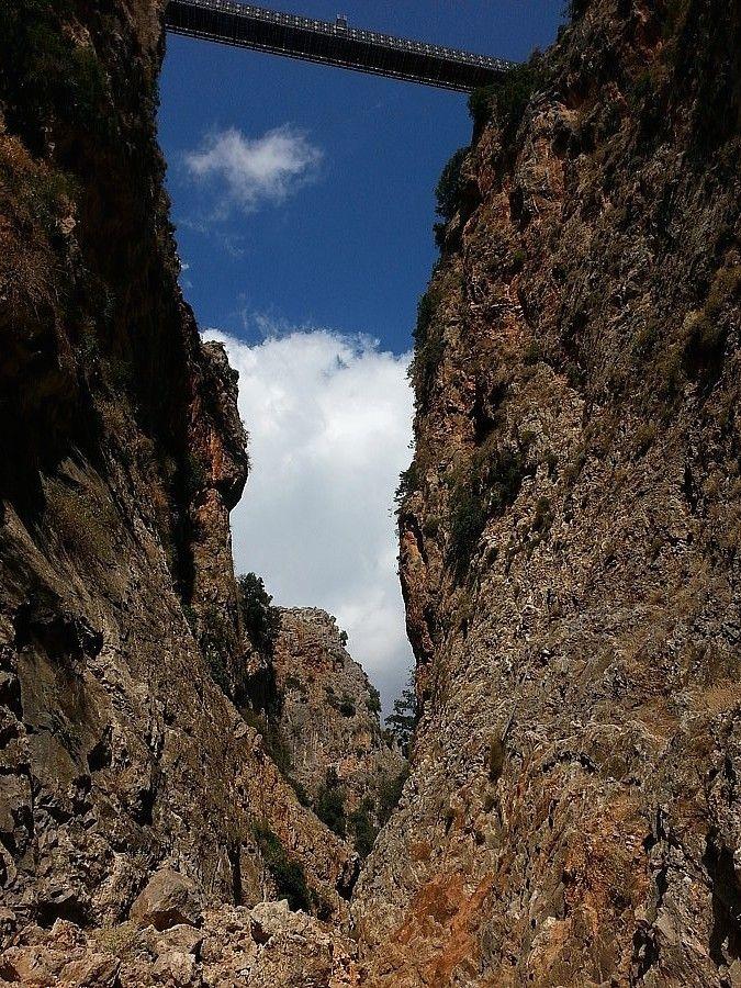 The gorge of Aradena.