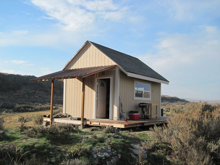 Small hunting cabins 12 x 16 hunting cabin with loft for Hunting cabin house plans
