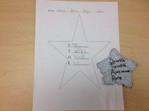 acrostic poetry in kindergarten!
