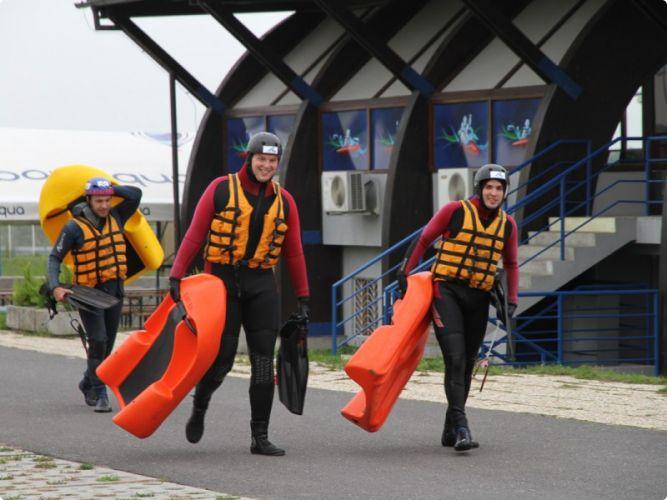 Guys ready for Hydrospeed #bratislava #stagdo