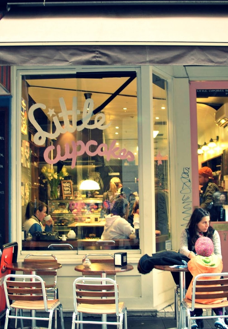 Love My Foods & Sugar: Little Cupcakes, Melbourne CBD