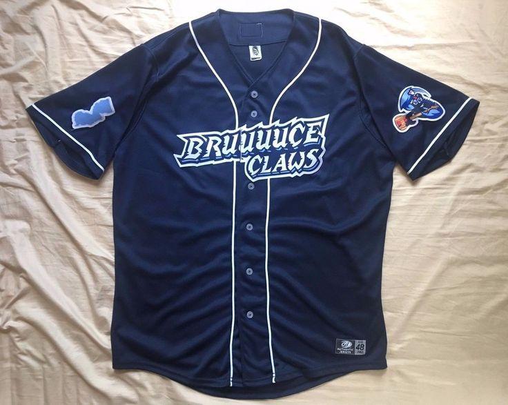 Men's OT Minor League Baseball Lakewood BlueClaws Springsteen jersey #33 size 44