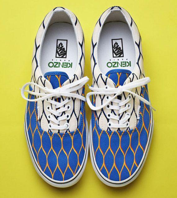 Vans x Kenzo Summer 2012 Footwear Collection