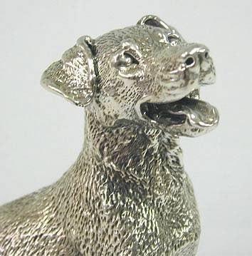 Sterling Parson Jack Russel Terrier Dog Miniature