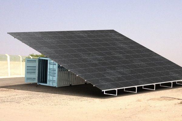 Osmosun : un dessalinisateur solaire d'eau de mer