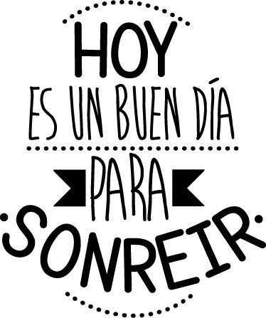 Hoy es un buen día para sonreir :) ¡Buenos días! #happy
