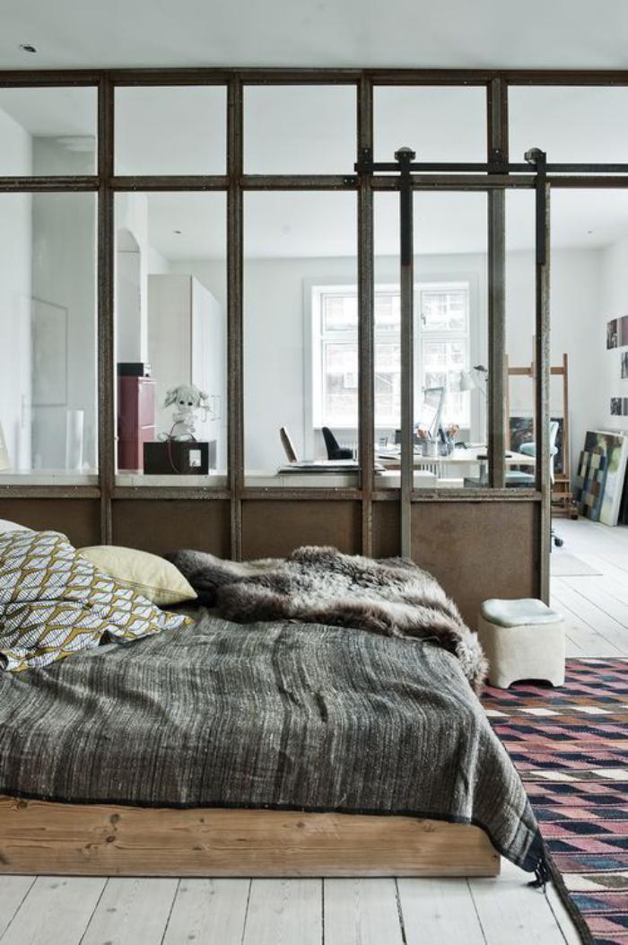 Die besten 25+ Industrielle fenster und türen Ideen auf Pinterest - kleines schlafzimmer fensterfront
