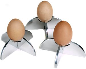 CONTEMPORARY 2 PIECE EGG CUP!!