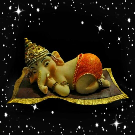 """Ganpati Bappa Moriya Ganesha - remover of all obstacles, the deity of intellect, wisdom, and new beginnings. Vakratunda Mahakaaya, Suryakoti Samaprabha Nirvighnam Kuru Mey Deva, Sarva Kaaryeshu Sarvada """"O Lord Ganesha who has a large body, curved trunk and brightness of a million suns, please remove all obstacles in my work always."""" May Bappa bless you and your loved one's with: a rainbow for every storm; a smile for every tear; a promise for every care; and an answer to your prayers. Have a…"""