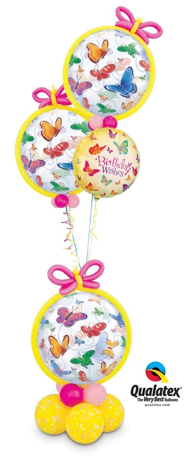 Perfect gift idea for spring-time #birthdays, don't you think? #butterflies #balloons