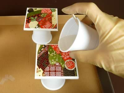 "Missing ingredient in most DIY Mod Podge coasters instructions: ""Envirotex"" to waterproof them!! This blog explains (wonderfully) exactly how to use it!!! :) Glad I read this before I tried to make mine!"