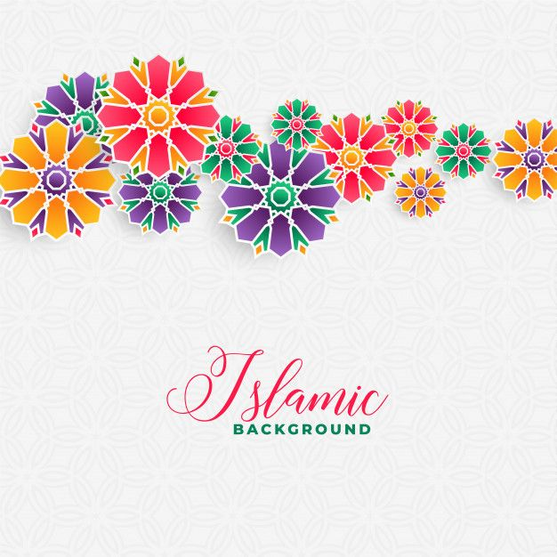 Download Decorative Islamic Background Design For Free In 2020