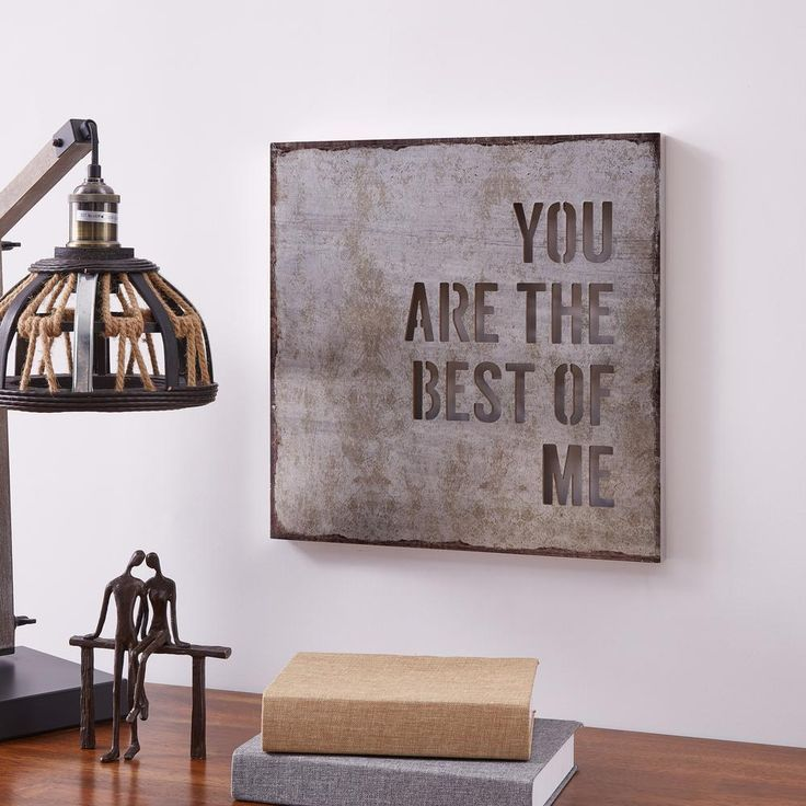 Danya B You Are The Best Of Me Industrial Rustic Metal Wall Art Fhb0190 In 2020 Rustic Metal Wall Art Rustic Wall Art Industrial Wall Art