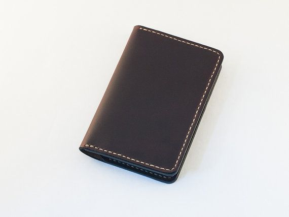 Field Notes Cover Wallet Horween Chromexcel Ox Blood by SHKIRA