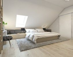 Sypialnia styl Skandynawski - zdjęcie od BAGUA Pracownia Architektury Wnętrz