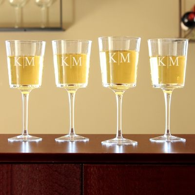 Contemporary Wine Glasses (Set of 4)