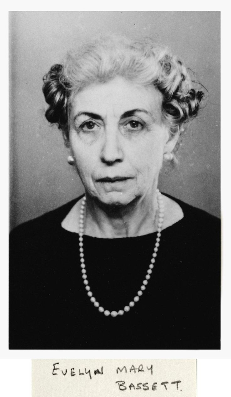 Evelyn Mary Bassett, Guy Burgess' mother (catalogue reference: KV 2/4116)