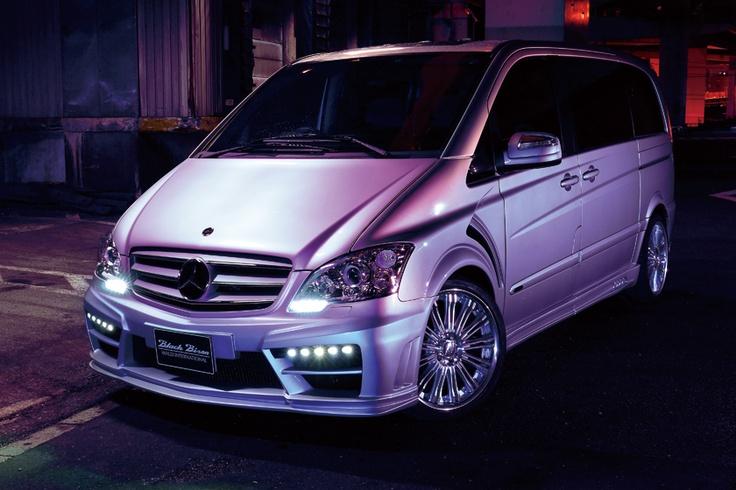Mercedes Benz Viano Black Bison By Wald International