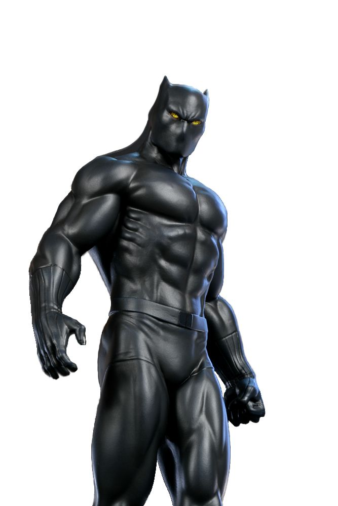 Marvel's black cat | Marvel-the-Black-Panther Very clean cut out with cat eyes added. 670 X ...
