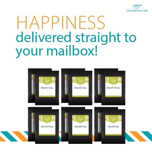 For the last minute shopper! Are you scrambling for birthday gifts, wedding gifts or housewarming gifts? Two teas every month for 6 months is exactly what you have been looking for.