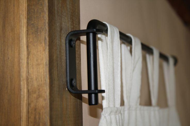 25 Best Ideas About Curtain Rod Brackets On Pinterest
