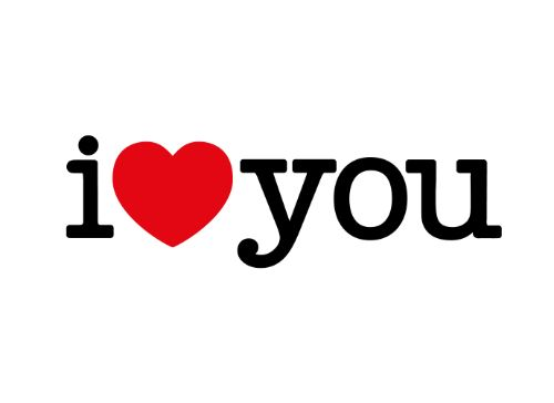 """We do <3 you! This is the perfect temporary tattoo to show someone just how much you love them. - Tattoo Size 2 1/2"""" x 3/4"""" - 2 Tattoos Included"""