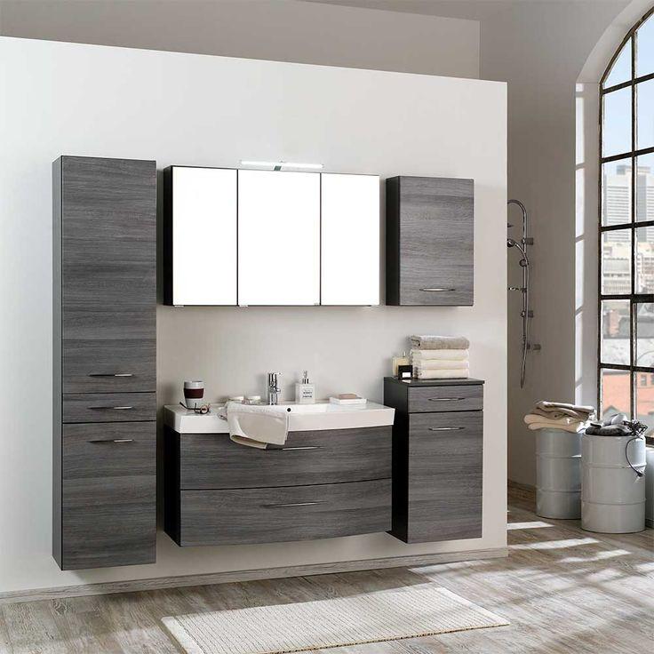 Badezimmermöbel weiß grau  Best 20+ Badezimmer 5 teilig ideas on Pinterest | Leoparddruck ...