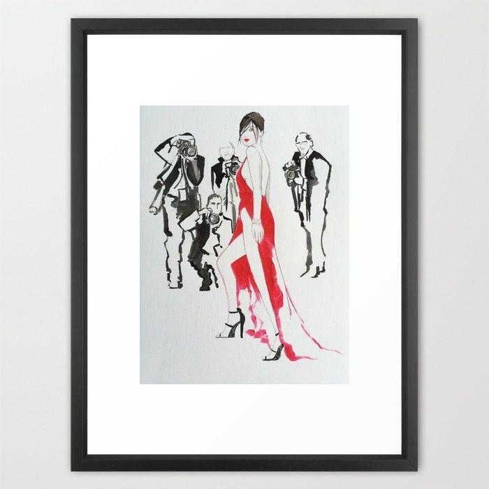 Paparazzi! Framed Art Print