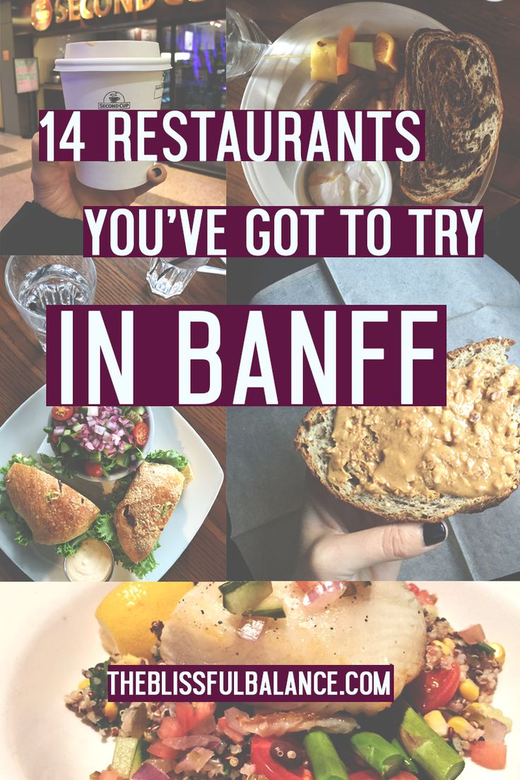 14 Restaurants You've Got to Try in Banff | the blissful balance  #RePin by AT Social Media Marketing - Pinterest Marketing Specialists ATSocialMedia.co.uk
