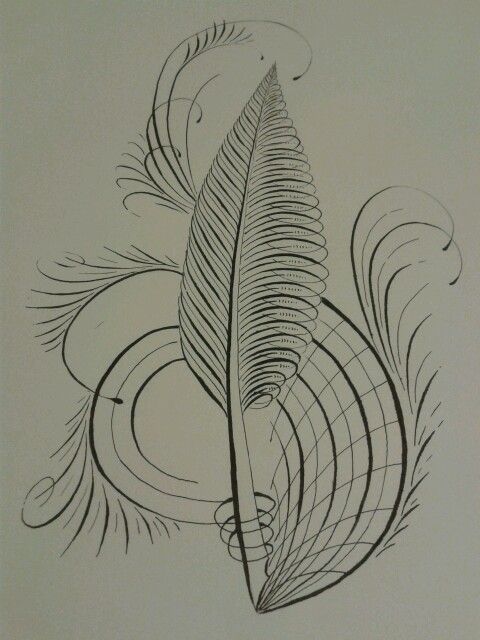 Feather Flourish