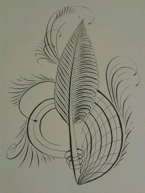 Feather Flourish